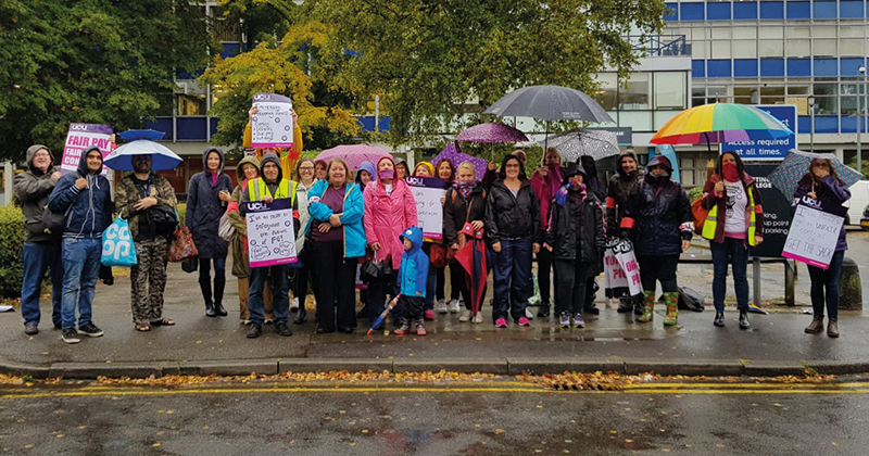 Punishing strikes at Nottingham College officially end