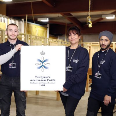 Three FE colleges win Queen's Anniversary Prizes