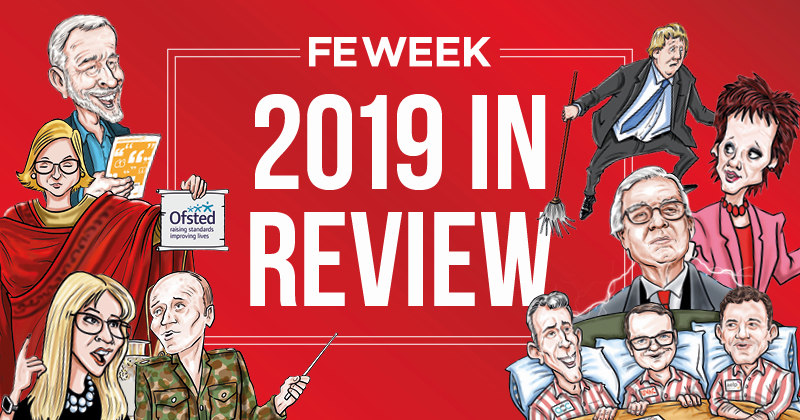 2019: The year in FE Week cartoons