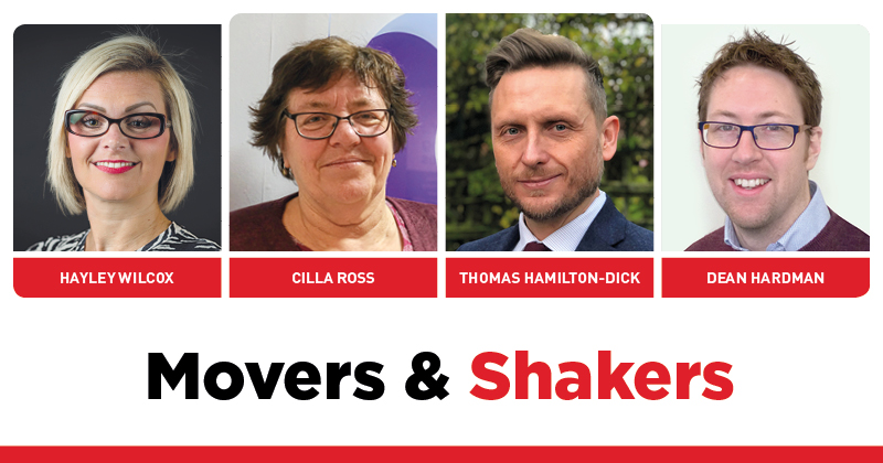 MOVERS AND SHAKERS: EDITION 301