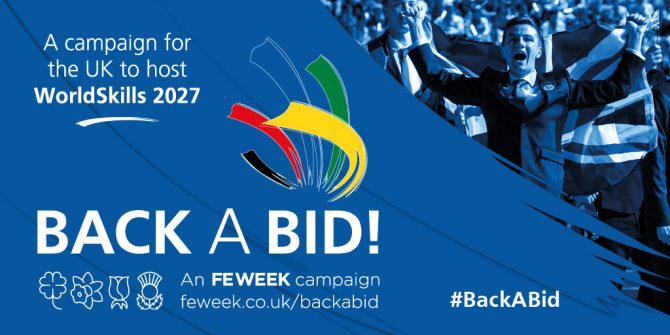 Back A Bid: Campaign to host WorldSkills 2027 in the UK