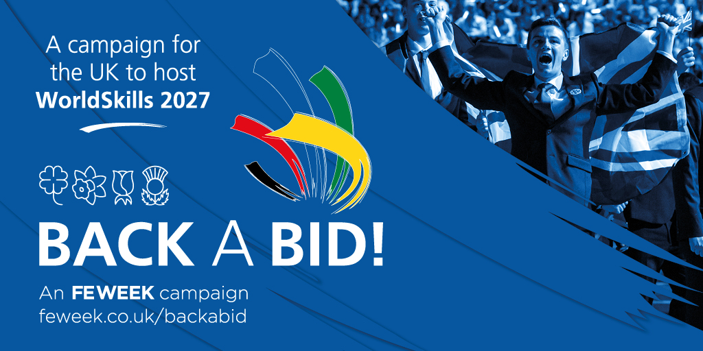 Back our bid to host WorldSkills 2027