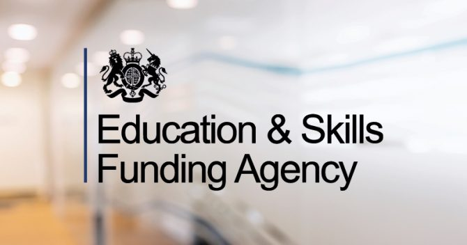 ESFA scraps provider achievement rate reports