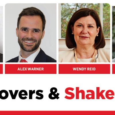 MOVERS AND SHAKERS: EDITION 307
