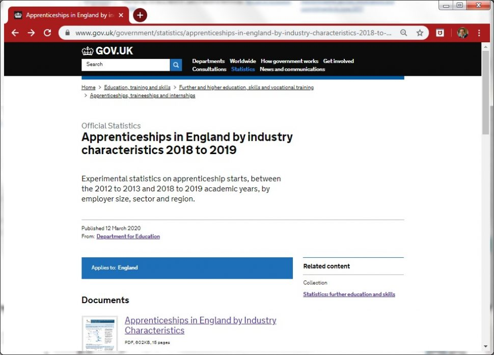 Revealed: DfE finds small employers now account for just 27% of apprenticeship starts