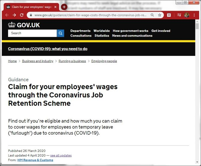 HMRC publish furlough and training guidance for apprentices