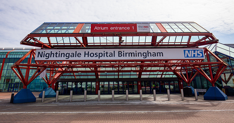 Revealed: Training providers supporting new Nightingale hospital