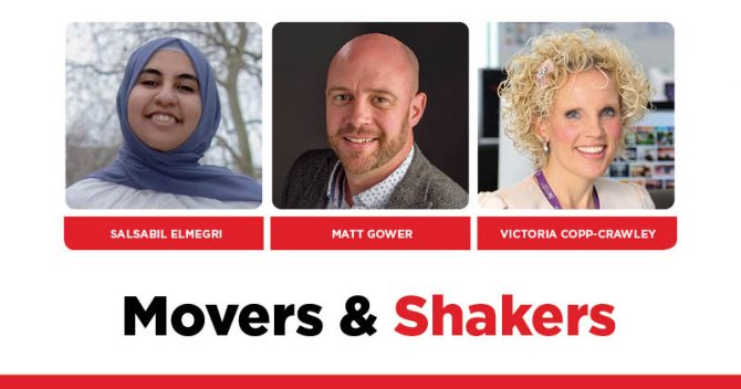 MOVERS AND SHAKERS: EDITION 313