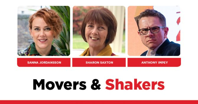 MOVERS AND SHAKERS: EDITION 314