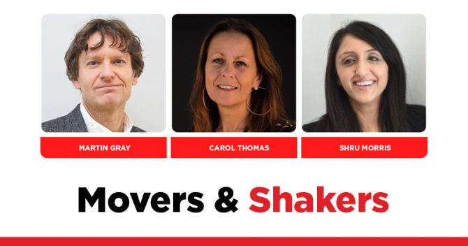 MOVERS AND SHAKERS: EDITION 321