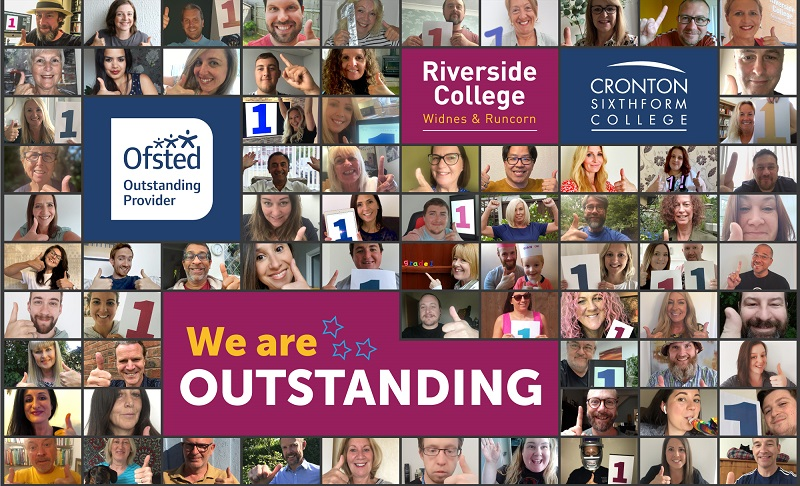 Worth the wait: 'Outstanding' grade for Riverside College