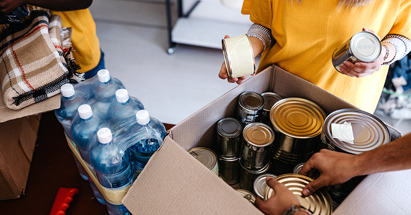Colleges set to repeat foodbank partnership