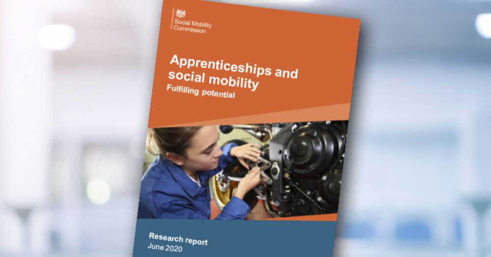 Social Mobility Commission report