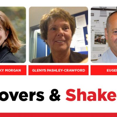 MOVERS AND SHAKERS: EDITION 323