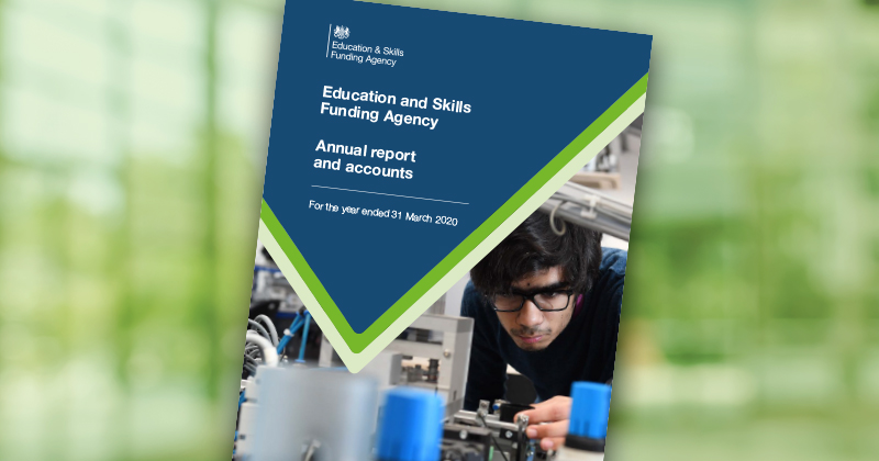 Nine things we learned from the ESFA's 2019-20 annual report and accounts