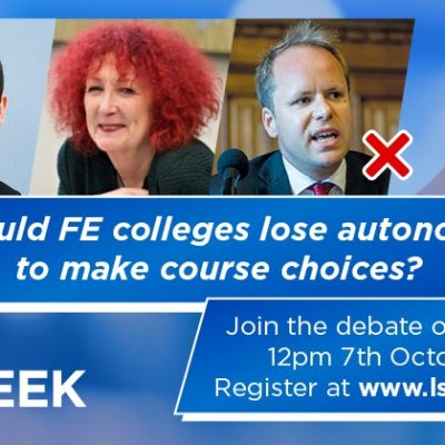 DEBATE: Should FE colleges lose autonomy to make course choices?