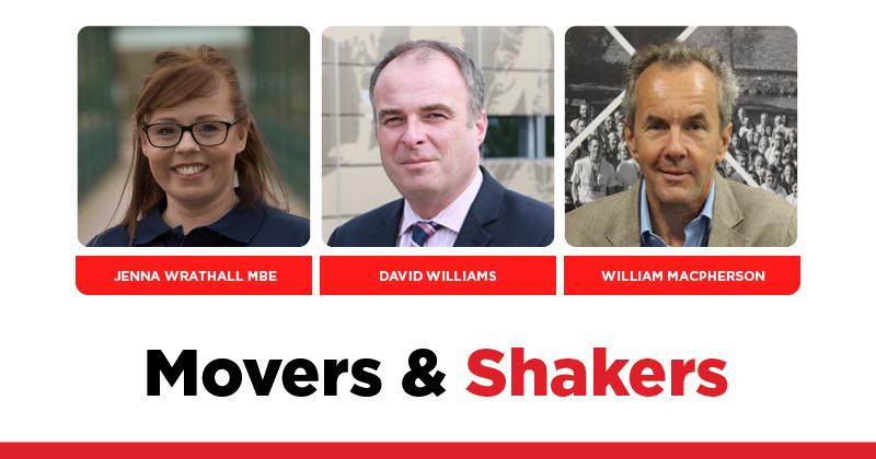 MOVERS AND SHAKERS: EDITION 325