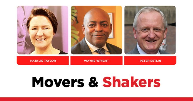 MOVERS AND SHAKERS: EDITION 345