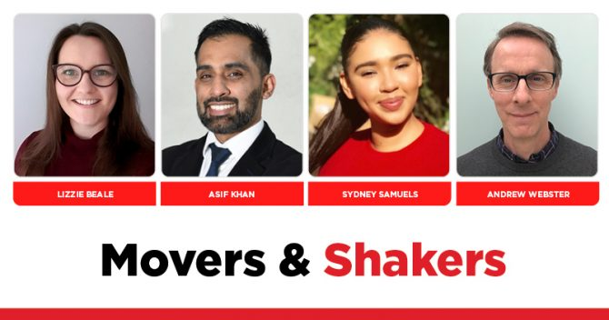 MOVERS AND SHAKERS: EDITION 346