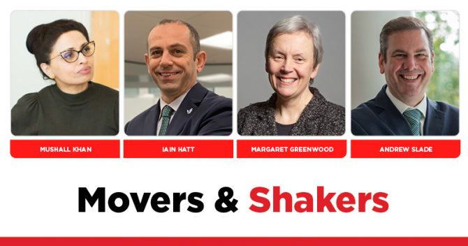 MOVERS AND SHAKERS: EDITION 347