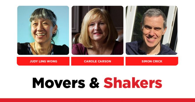 MOVERS AND SHAKERS: EDITION 348