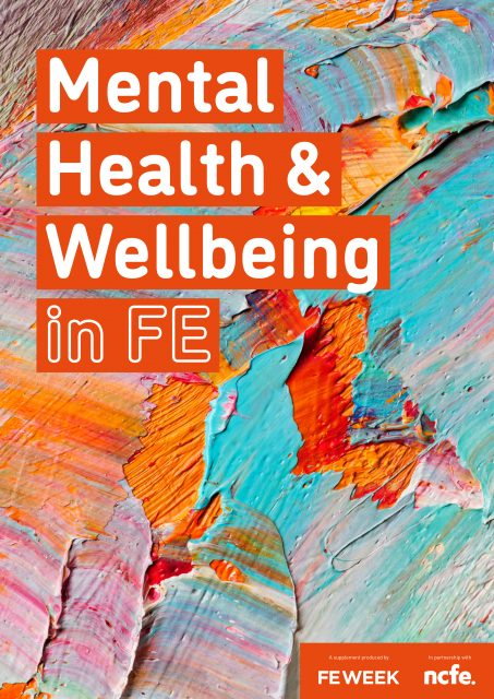 Mental Health & Wellbeing in FE