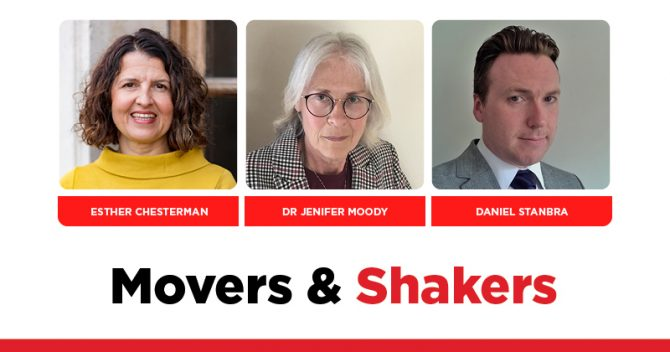 MOVERS AND SHAKERS: EDITION 353