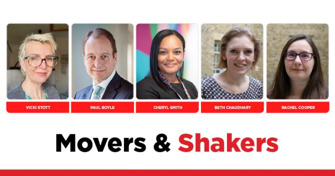 MOVERS AND SHAKERS: EDITION 355