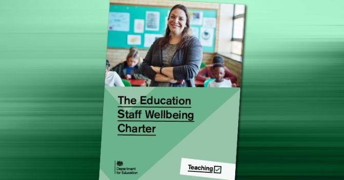 Ofsted to review framework's impact on staff wellbeing, new charter pledges