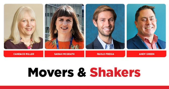 MOVERS AND SHAKERS: EDITION 359