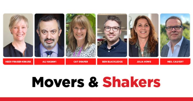 MOVERS AND SHAKERS: EDITION 360